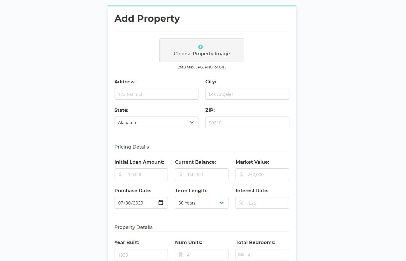 Rentastic Property Details