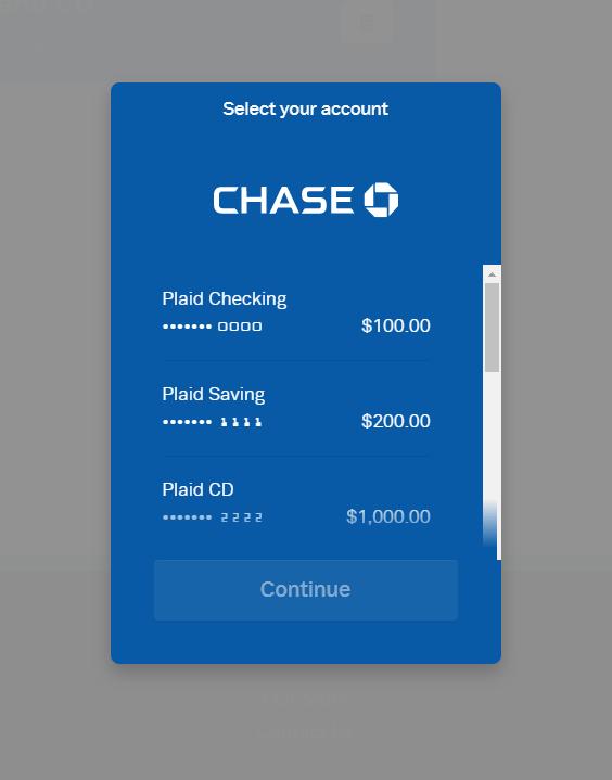 Rentastic Select Bank Account