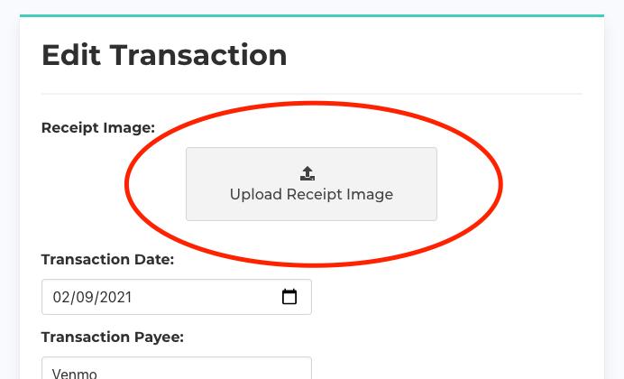 Add Receipt Image
